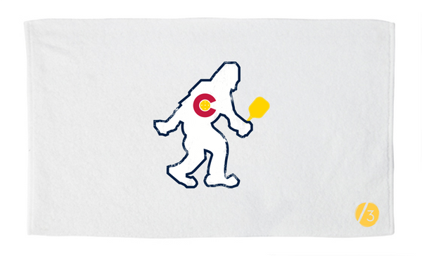 CO PICKLEBALL YETI Athletic Towel