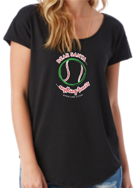 Dear Santa - Women's Scoop Tee