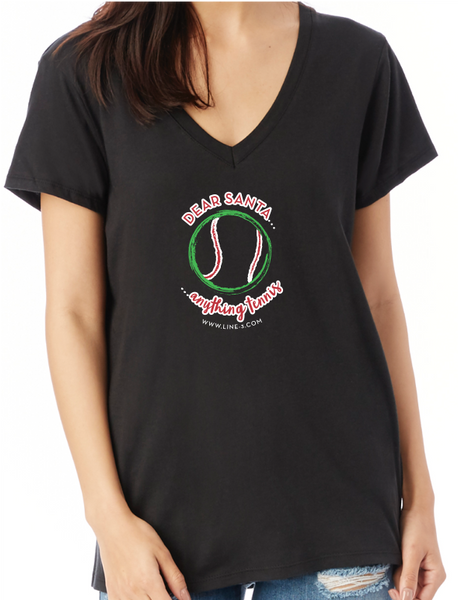 Dear Santa - Women's V-Neck Tee