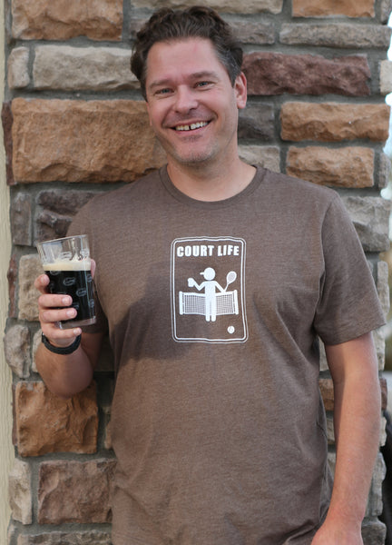 Court Life™ Beer - Men's Tee