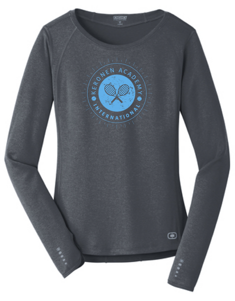 Keronen Academy - Women's Performance Long Sleeve Tee