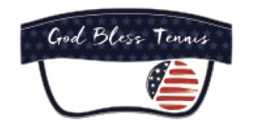 God Bless Tennis™ - Visor