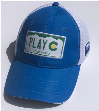 PLAY CO TRUCKER HAT - USTA CO LOGO WEAR