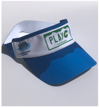 PLAY CO VISOR - USTA CO LOGO WEAR