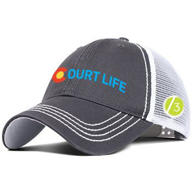Court Life™ Colorado - Trucker Hat