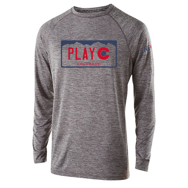 PLAY CO-USA Men's LS Performance Tee