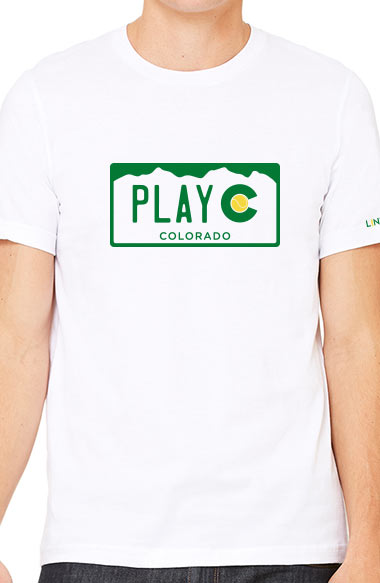 UNISEX PLAY CO TEE - USTA COLORADO LOGO WEAR