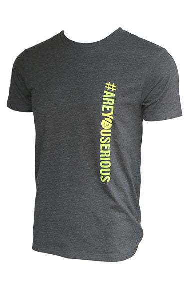 #AreYouSerious™ - Men's Tee