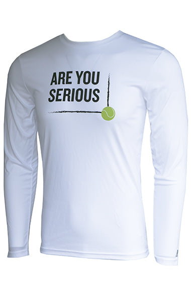 AreYouSerious Line Call™ - Men's Performance Long Sleeve Tee