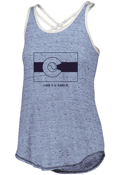 CO Flag 5280 - Women's Tank
