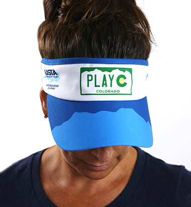VISOR - USTA COLORADO LOGO WEAR