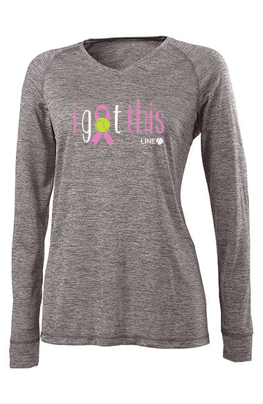 Breast Cancer -  I Got This™ -  Women's Performance Long Sleeve Tee