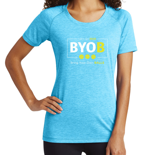 BYOB-Bring Your Own Balls - Women's Tri-Blend Tee