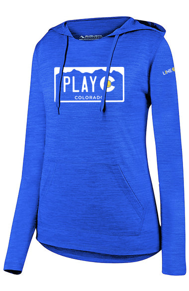 WOMEN'S PLAY CO HOODIE - USTA COLORADO LOGO WEAR