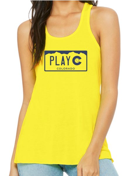 PLAY CO TANK - USTA CO LOGO WEAR