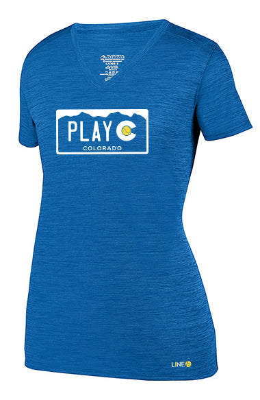 PLAY CO WOMEN'S TEE - USTA CO LOGO WEAR
