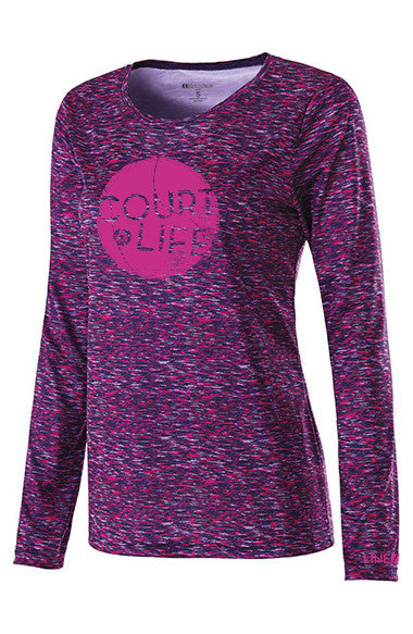 Court Life™ -  Women's Performance Long Sleeve Tee