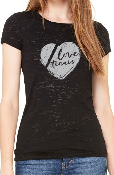 Love Tennis™ - Women's Burnout Tee