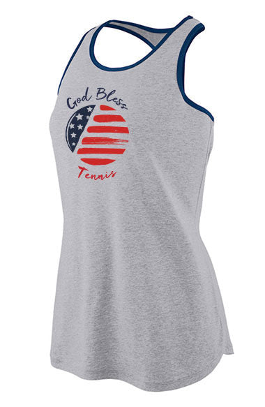 God Bless Tennis™ - Women's Jersey Tank