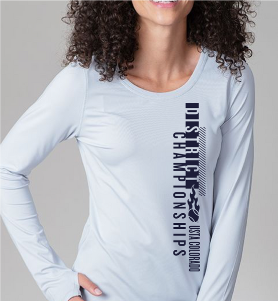 USTA CO District Championships - WOMEN'S LONG SLEEVE PERFORMANCE TEE