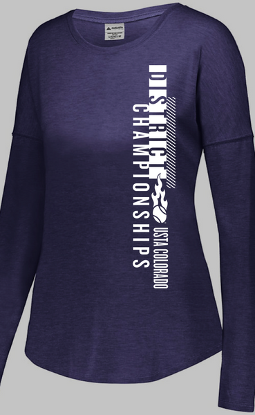 USTA CO District Championships - WOMEN'S LS TRI-BLEND