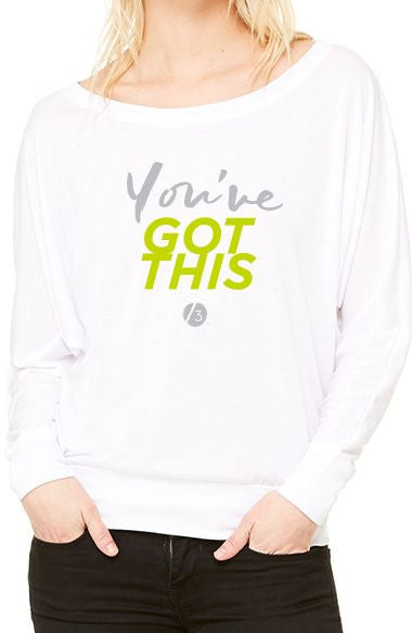 You've Got This™ - Women's Flowy Long Sleeve Tee