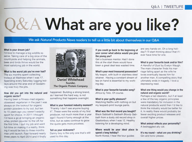 Q&A:What are you like? main image