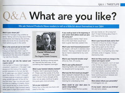 Q&A:What are you like?