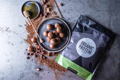 Organic Nutella-Style Protein Balls