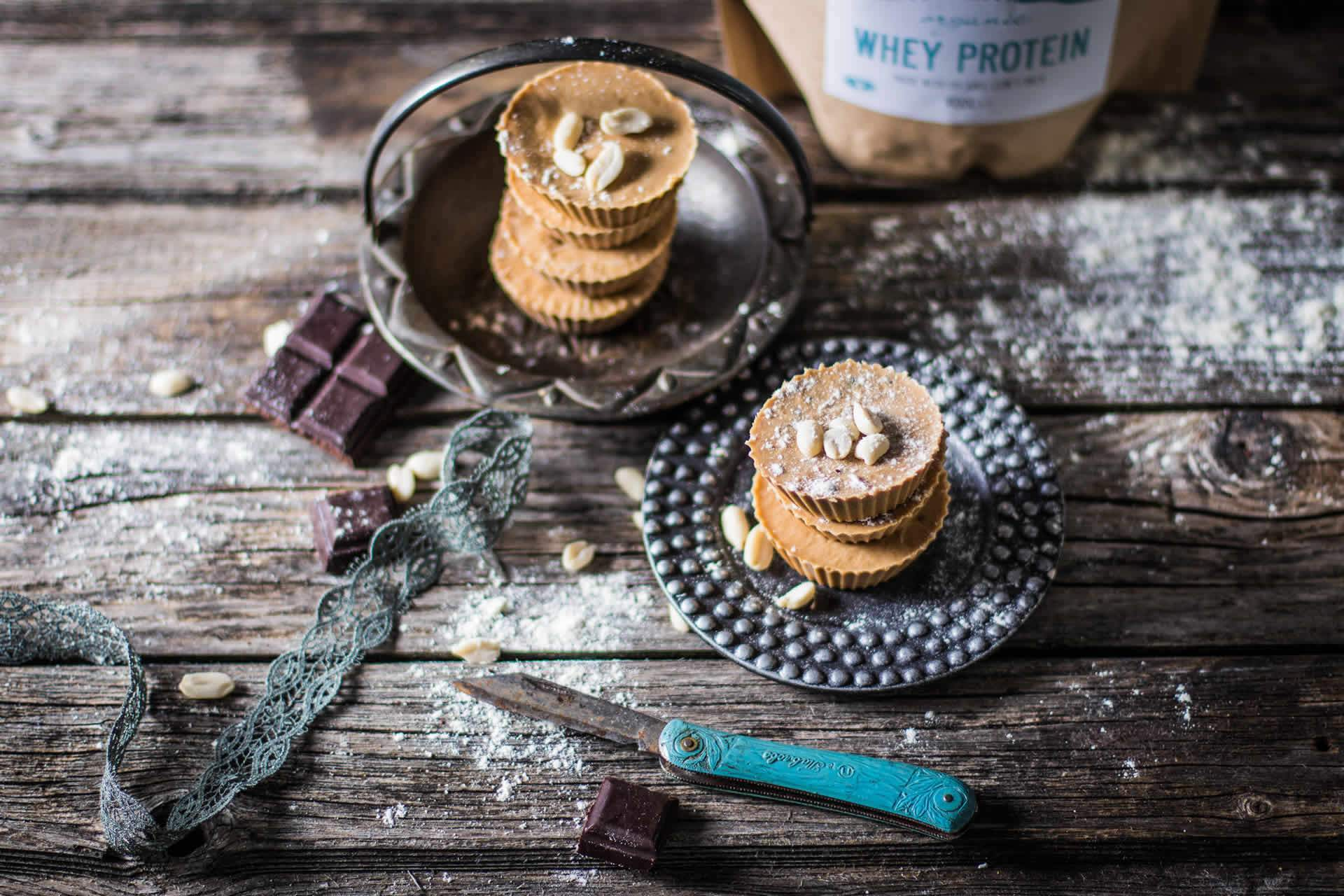 Peanut Butter & Whey Protein Cups