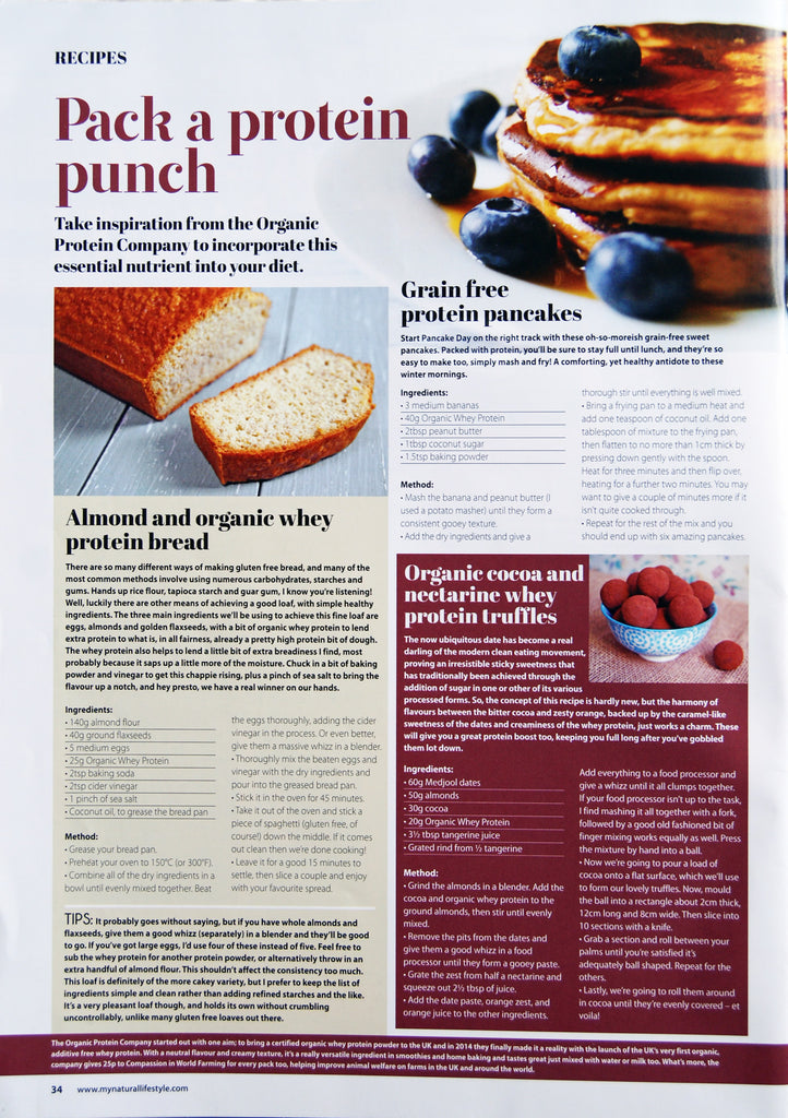 Pack a protein punch main image