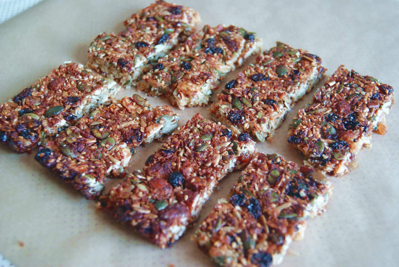 Paleo Granola Energy Bars