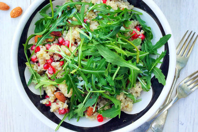 Quinoa Salad with Protein Dressing