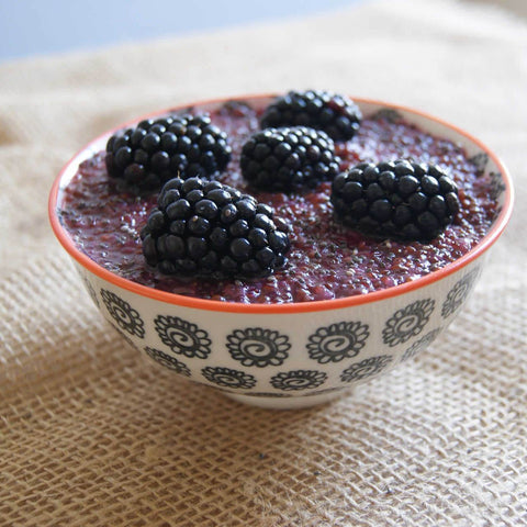 Quinoa, Chia & Blackberry Porridge