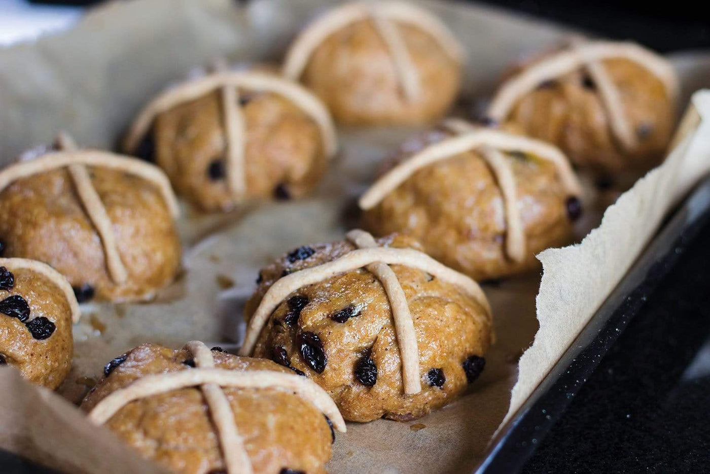 High Protein Hot Cross Buns
