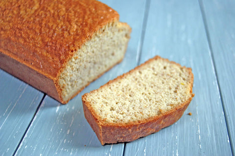 almond and whey protein bread main image