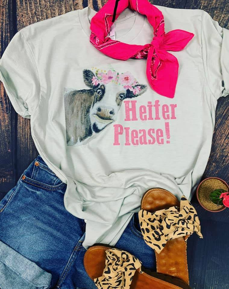 Heifer Please Graphic Tee