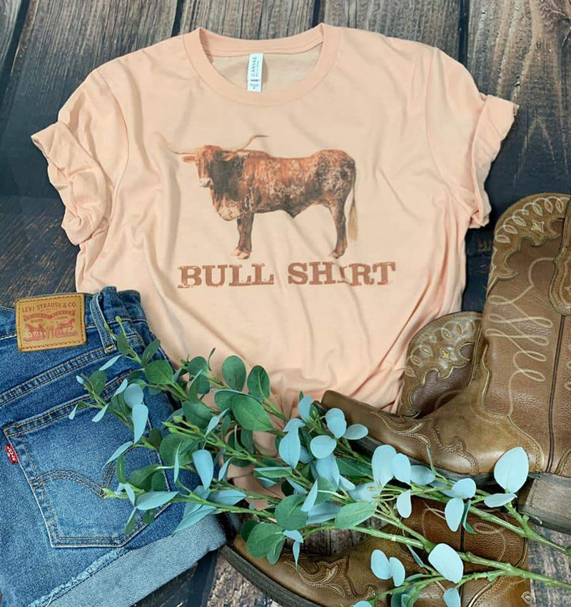 Bull Shirt Western Graphic Tee