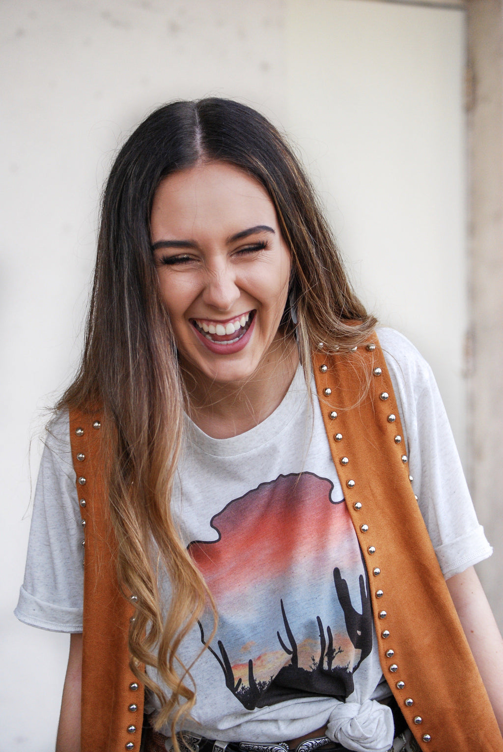 Arrowhead Sunset Graphic Tee