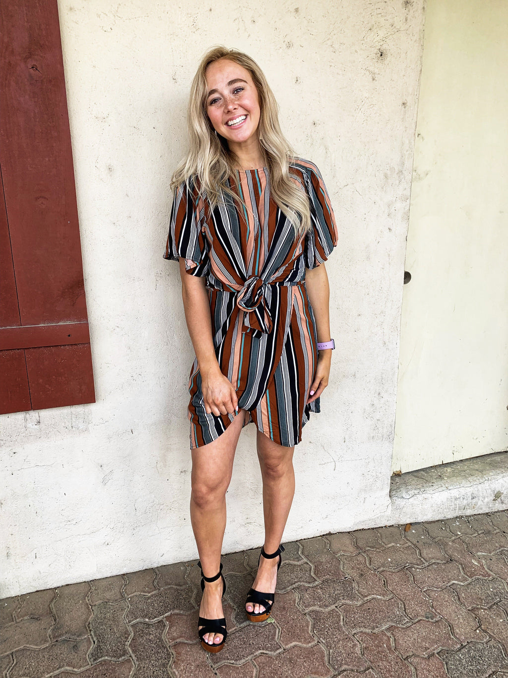 Santa Fe Keyhole Dress