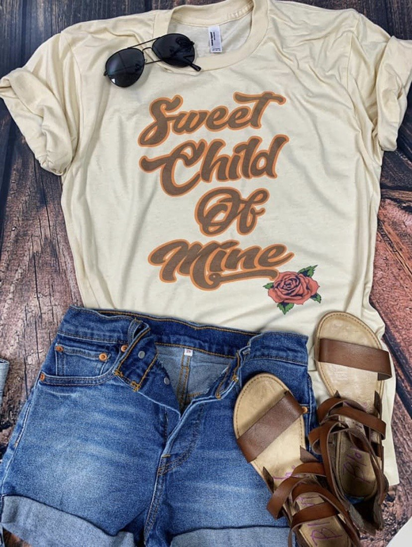 Sweet Child of Mine Graphic Tee
