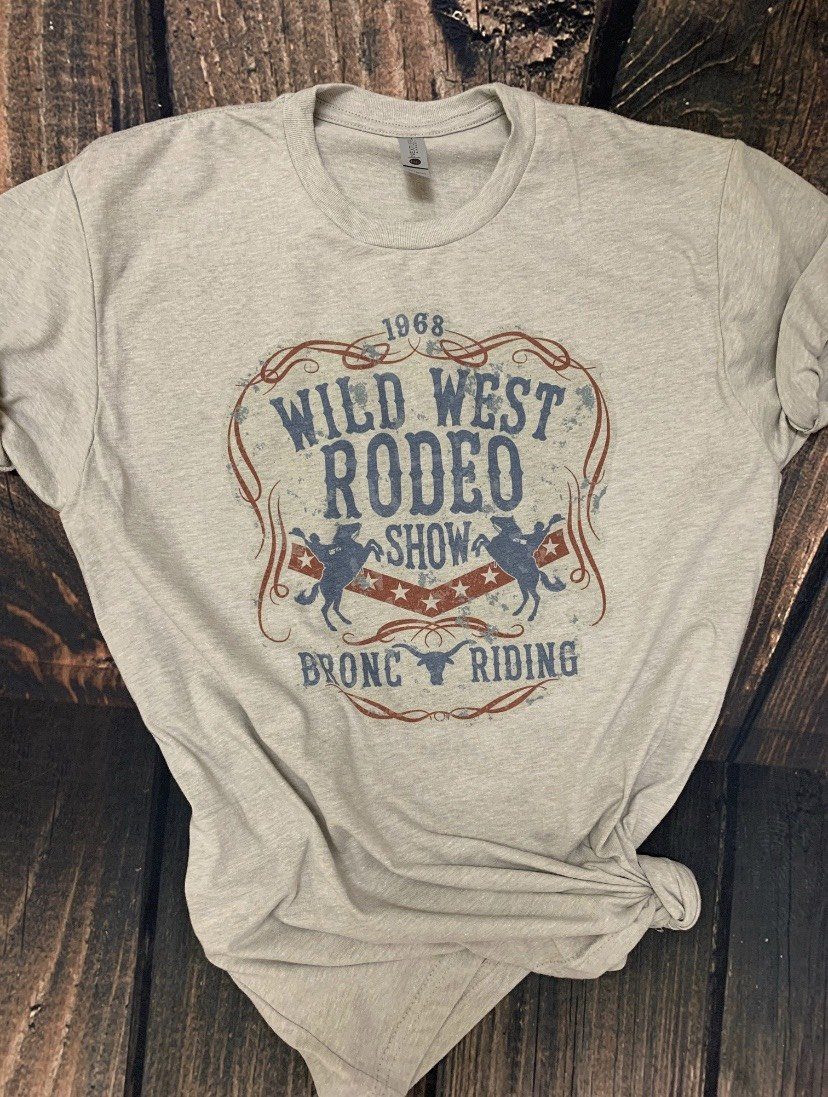 Wild West Rodeo Show Graphic Tee