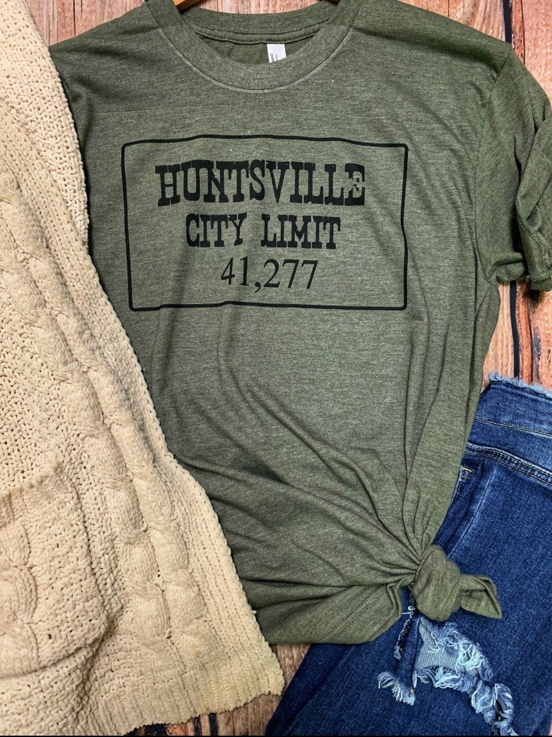 Huntsville, Texas City Limit Graphic Tee