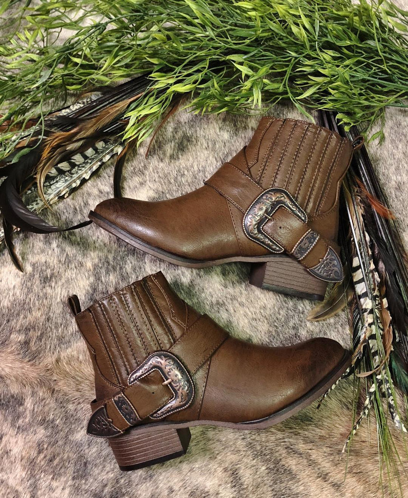 These booties are absolutely perfect to wear out dancing or even at the rodeo!