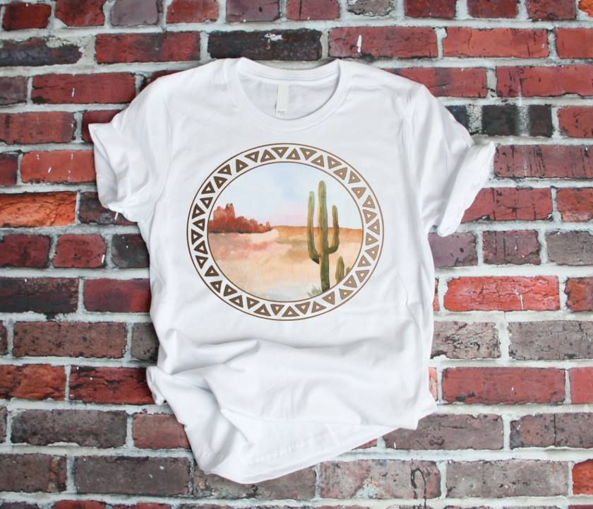 Desert Bliss Graphic Tee