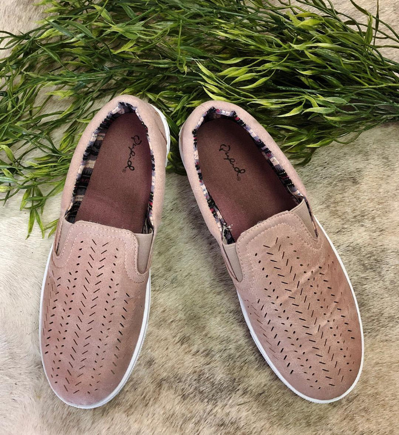 Game Changer Blush Slip-On's