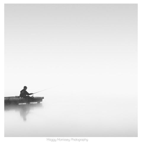 'The Zen Of Fishing' Fine Art Print