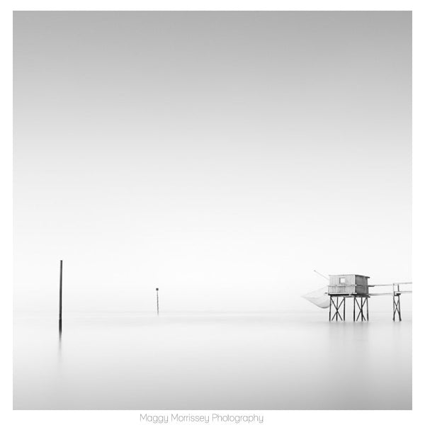 'Quietude' Soothing Coastal Art Print
