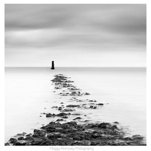 'Faraway Lighthouse' Dublin Bay Photograph