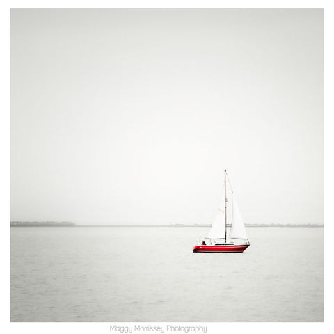 'Sailing On Dreams' Dublin Bay Art Print